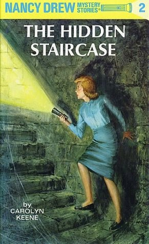 Nancy Drew and the Hidden Staircase book cover