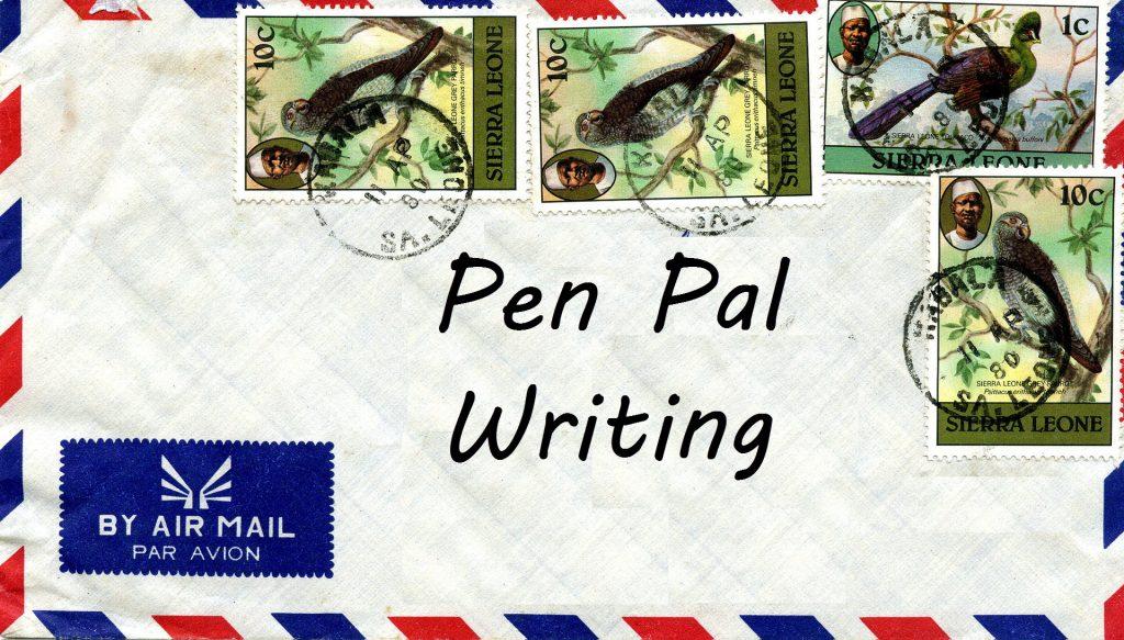 pen pal letter
