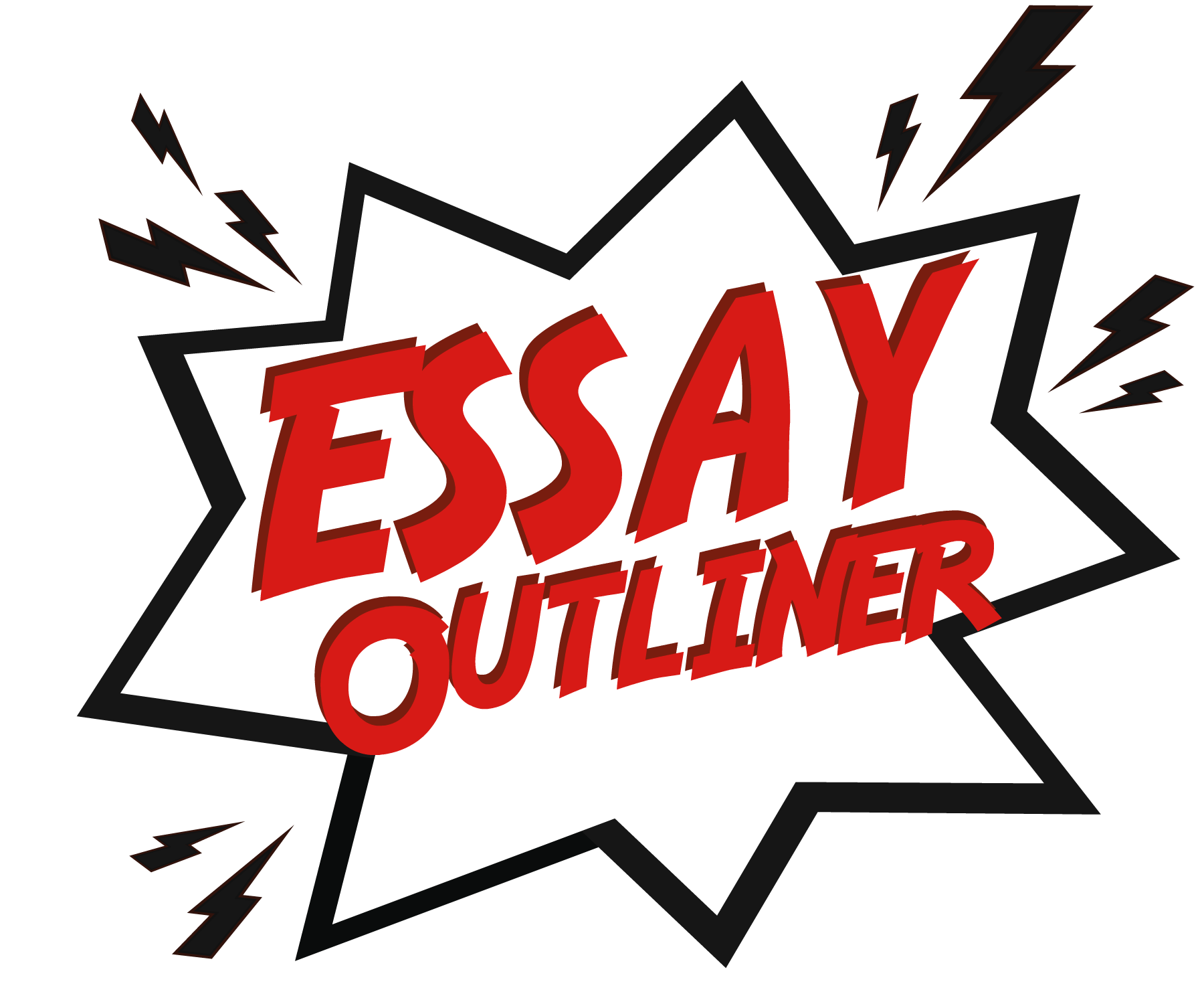 Easy Essay Outliner  Virtual Writing Tutor Blog Explosion With The Words Essay Outliner Sample Essay Thesis also Compare And Contrast Essay Papers  Business Etiquette Essay