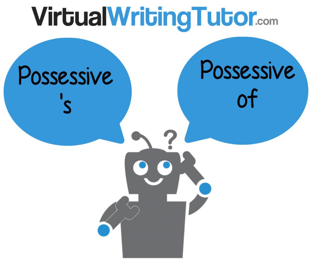 choosing between possessive 's and possessive of