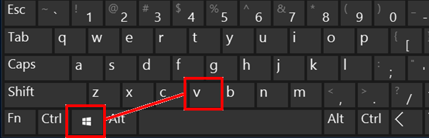 Windows key + V for multi-clip clipboard