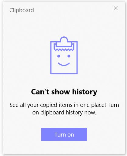Turn on your multi-clipboard